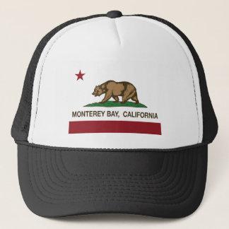 カリフォルニア旗のモンテレー湾 キャップ