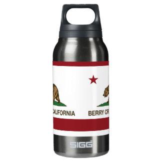 カリフォルニア旗の果実の入り江 断熱ウォーターボトル