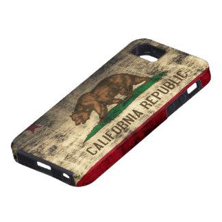 カリフォルニア旗の穹窖のVibeのiPhone 5の場合 iPhone SE/5/5s ケース