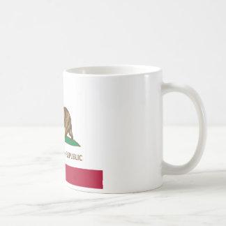 カリフォルニア旗の緑葉カンラン版(緑葉カンランifornia) コーヒーマグカップ
