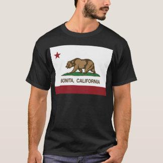 カリフォルニア旗のbonita tシャツ