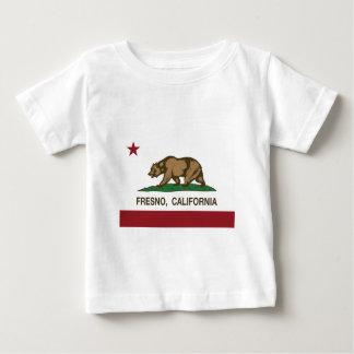 カリフォルニア旗フレズノ ベビーTシャツ
