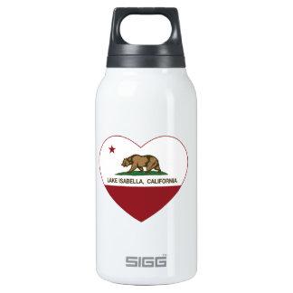 カリフォルニア旗湖のイザベラのハート 断熱ウォーターボトル