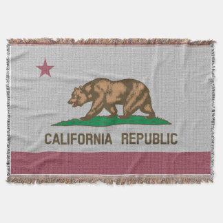カリフォルニア旗 スローブランケット