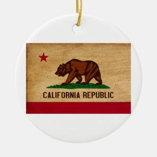 カリフォルニア旗 セラミックオーナメント