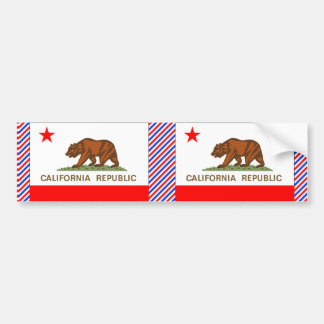 カリフォルニア旗 バンパーステッカー
