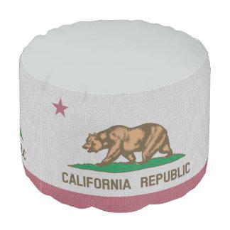 カリフォルニア旗 プーフ