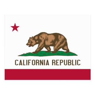 カリフォルニア旗 ポストカード
