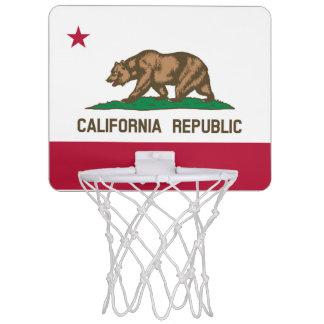 カリフォルニア旗 ミニバスケットボールネット