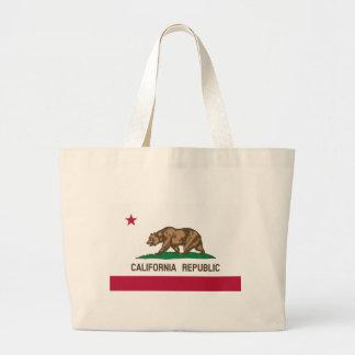 カリフォルニア旗 ラージトートバッグ