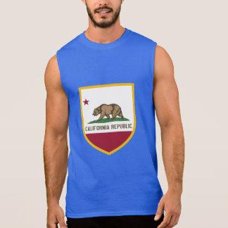 カリフォルニア旗 袖なしシャツ