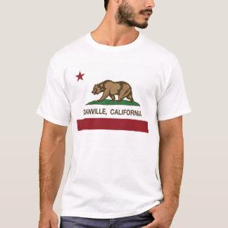 カリフォルニア旗danville tシャツ