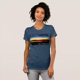 カリフォルニア日没のような日没がありません Tシャツ