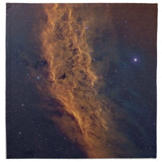 カリフォルニア星雲 ナプキンクロス
