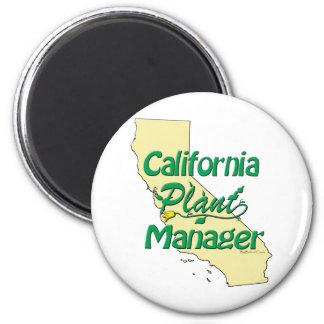 カリフォルニア植物マネージャー マグネット
