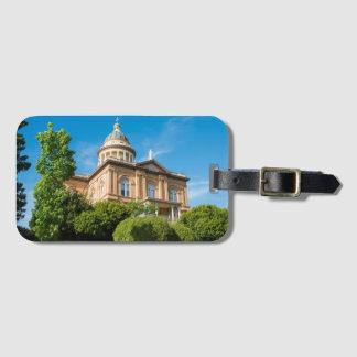 カリフォルニア歴史的な金褐色の裁判所 ラゲッジタグ