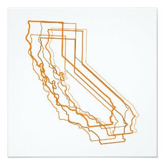 カリフォルニア汚点の招待 カード