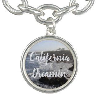 カリフォルニア海岸の朝の夢 チャームブレスレット