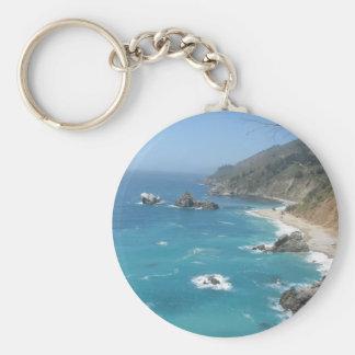 カリフォルニア海岸大きいSur キーホルダー