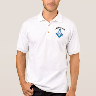 カリフォルニア石大工のワイシャツ ポロシャツ