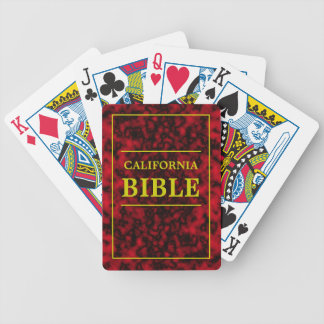 カリフォルニア聖書 バイスクルトランプ