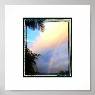 カリフォルニア虹 ポスター