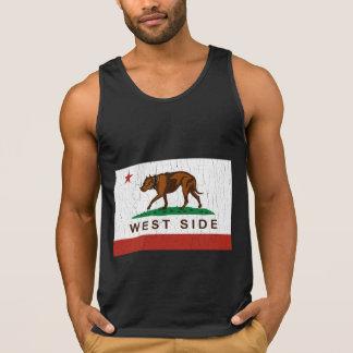 カリフォルニア西側のピットブルの旗(ヴィンテージ)