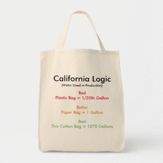 カリフォルニア論理 トートバッグ
