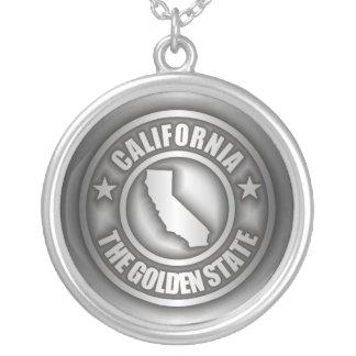 """""""カリフォルニア鋼鉄""""ネックレス シルバープレートネックレス"""