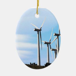 カリフォルニア風車 セラミックオーナメント
