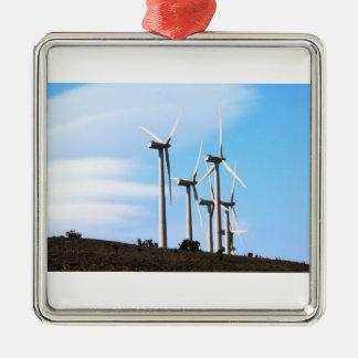 カリフォルニア風車 メタルオーナメント