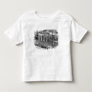 カリフォルニア1891年のWoodcutters トドラーTシャツ