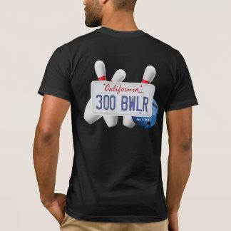 カリフォルニア300ボウリングをする人、クリケットの投手 Tシャツ