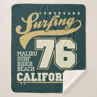 |カリフォルニア76をサーフするLongboard シェルパブランケット