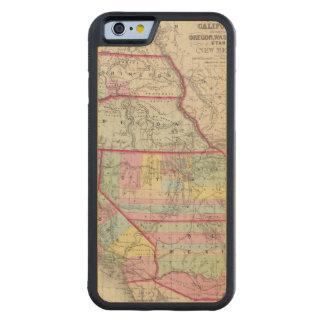 カリフォルニア、オレゴン、ワシントン州、ユタ、ニューメキシコ CarvedメープルiPhone 6バンパーケース