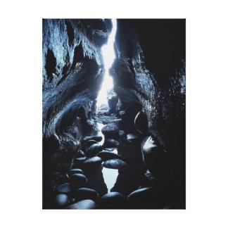 カリフォルニア、サンディエゴ、La Jolla、La Jolla洞窟 キャンバスプリント