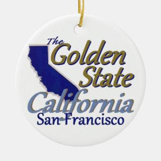 カリフォルニア セラミックオーナメント