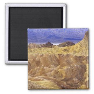 カリフォルニア: デスヴァレーNP、Zabriskieからの眺め マグネット