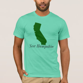 カリフォルニア、ニューハンプシャー Tシャツ