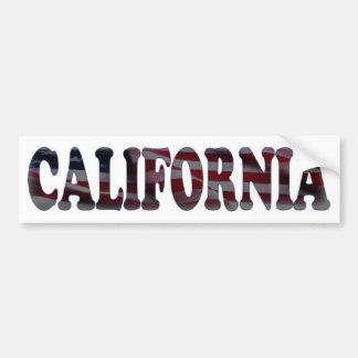 カリフォルニア バンパーステッカー