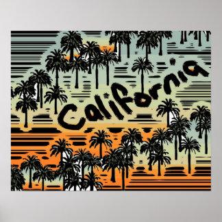 カリフォルニア ポスター