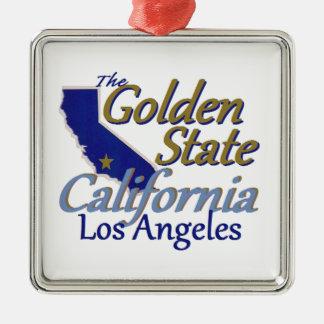 カリフォルニア メタルオーナメント