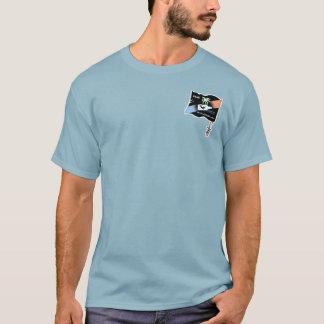 カリフォルニア-時々のDIABの黒い旗 Tシャツ