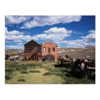 カリフォルニア、Bodieの国家史跡公園、古いの ポストカード