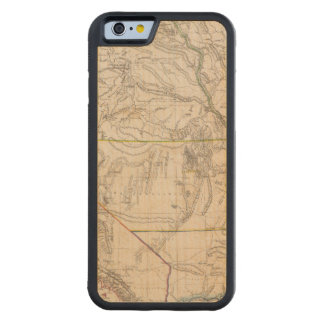 カリフォルニア、Oregan、ユタ、ニューメキシコ CarvedメープルiPhone 6バンパーケース