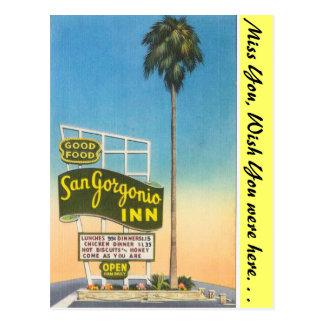 カリフォルニア、San Gorgonioイン ポストカード