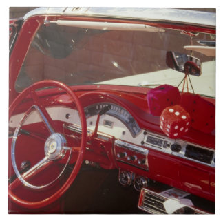 カリフォルニア:  Santa Ynez Valley、Solvang 1957年 タイル