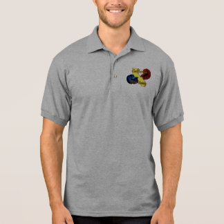 カリフォルニアBetta社会のポロシャツ ポロシャツ