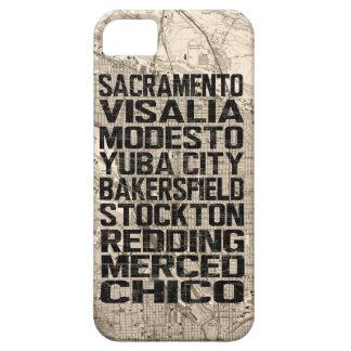 カリフォルニアCentral Valley iPhoneの場合 iPhone SE/5/5s ケース