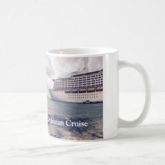 カリブのな巡航-白11のozのクラシックで白いマグ コーヒーマグカップ